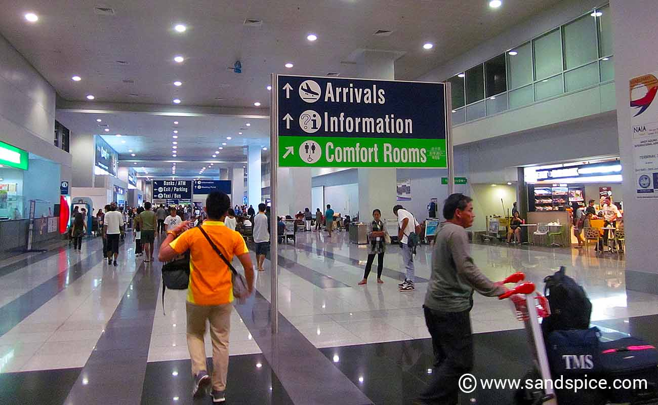 Manila Airport – Terminals 2 & 3