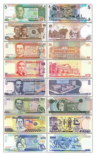 Discontinued Filipino currency