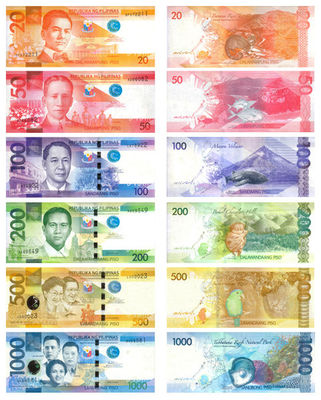 New Filipino currency