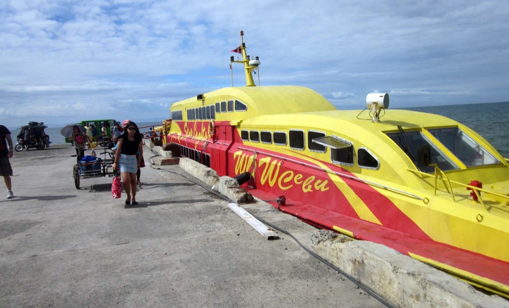 Bohol ferry from Cebu to Tubigon