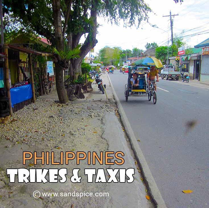 Philippines Trikes Taxis