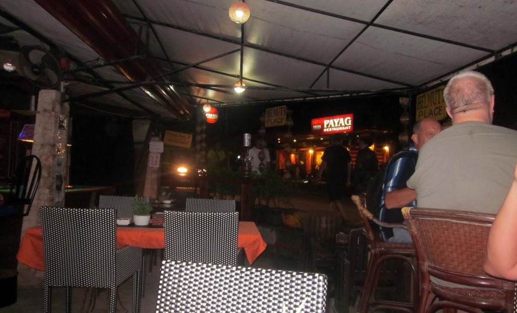 Helmut's Place at Alona Beach