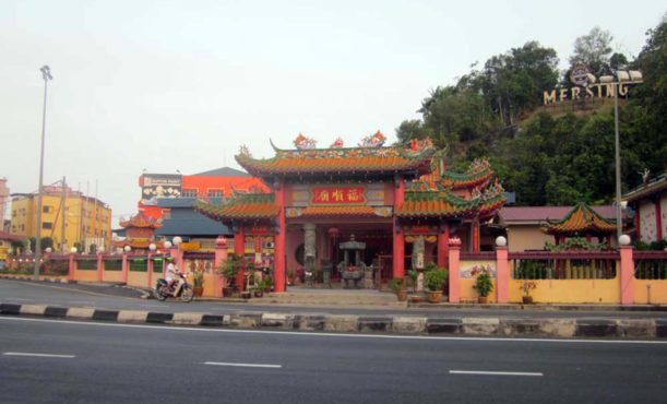 Chinese Temple in the center of Mersing