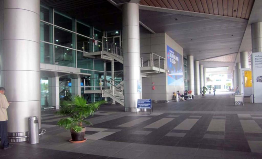 Kota Kinabalu has a modern airport