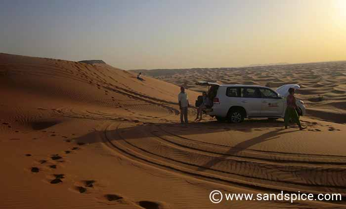 Dune Bashing Desert Safari & Arab Campsite in Dubai United Arab Emirates