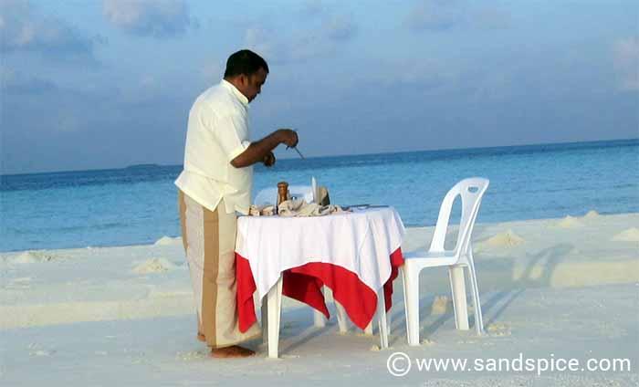Sandbank Affaire Makunudu Maldives