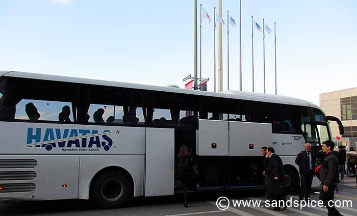 Havatas Coach - Istanbul Airport-City Transfer