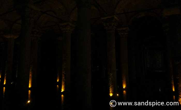 The Basilica Cistern Mosques