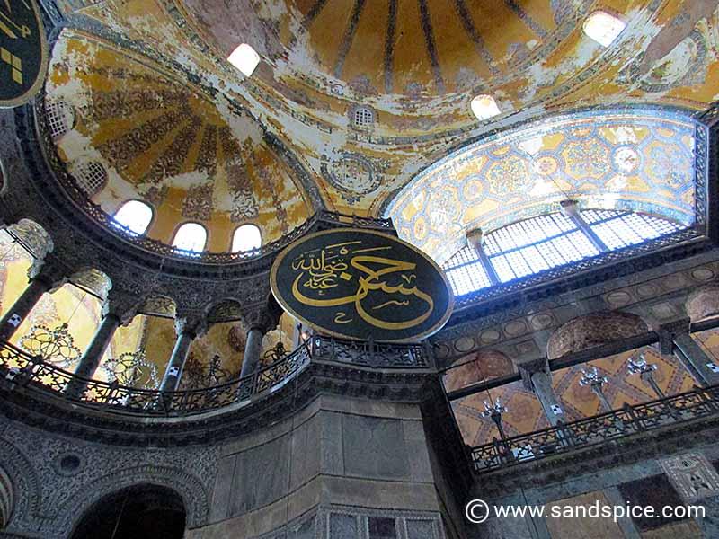Istanbul Mosques - Hagia Sophia Dome