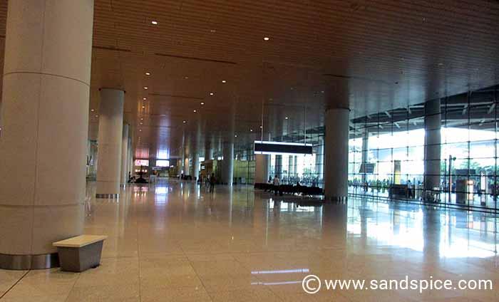 Mumbai International Transfer to Domestic Terminal - Arrivals Hall