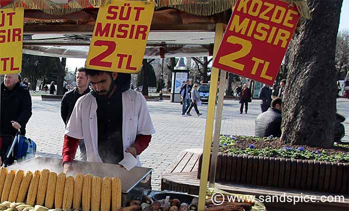 Istanbul Eateries - Street Food in Istanbul