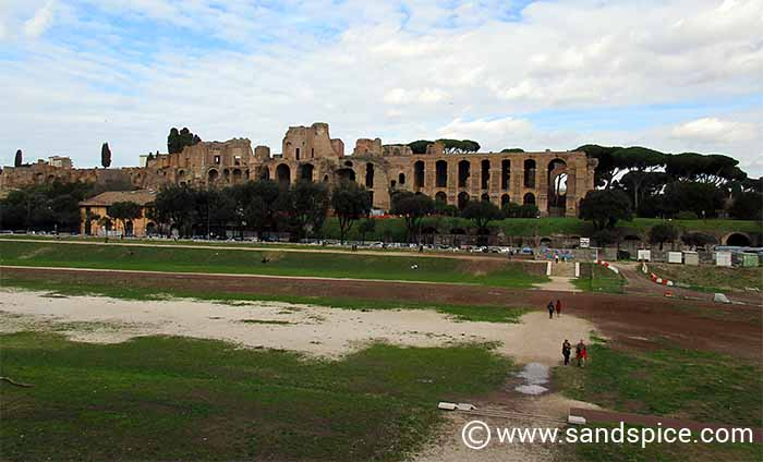 Rome Attractions in Autumn - Circus Maximus