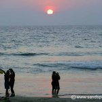 Kovalam Beach Sunset