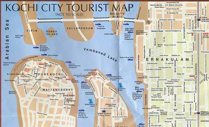 Map of Kochi City