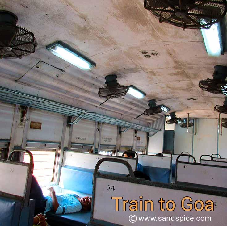 Night train to Goa