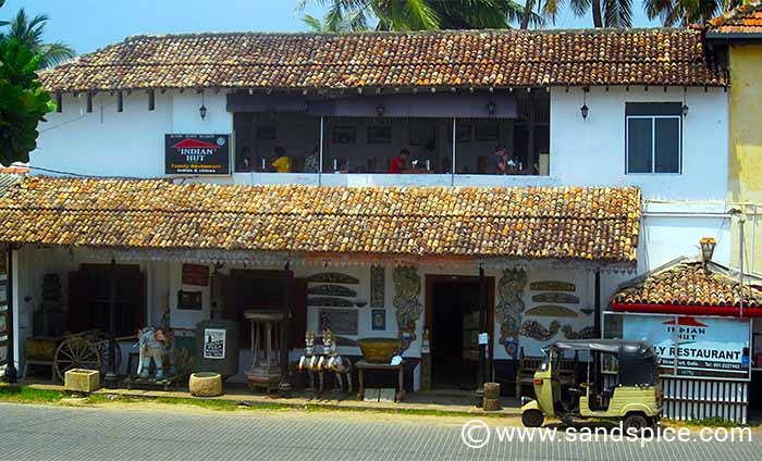 Galle Fort Indian Hut