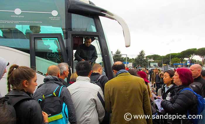 Terravision Rome airport bus