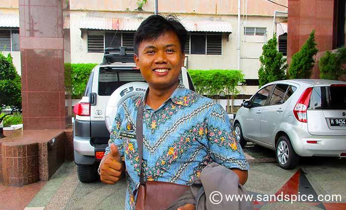 Backtracking to Semarang City by Minibus