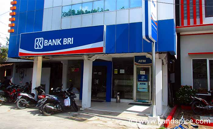 Karimunjawa Town's only bank and outdorr ATM