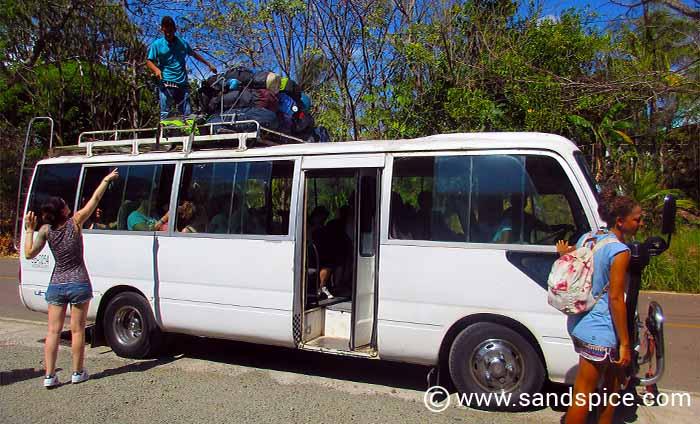 Panama City to Santa Catalina