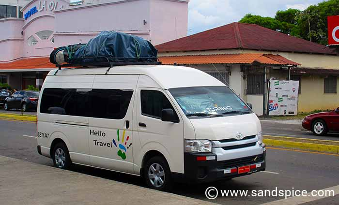 Getting Around Panama by Shuttle Bus