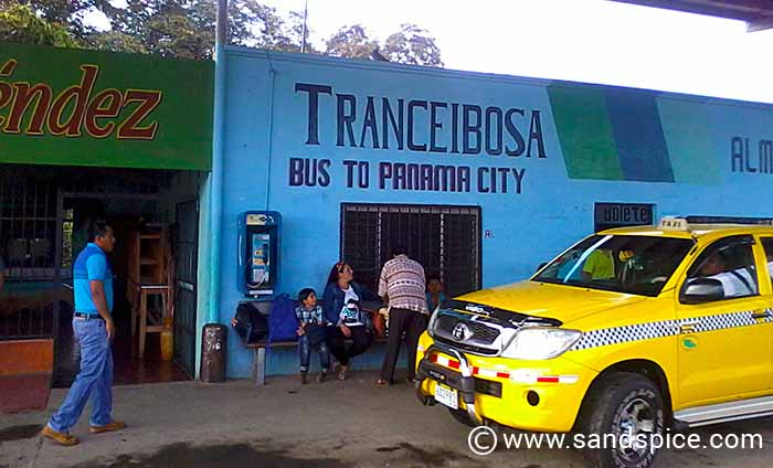 Bocas to Boca Chica by Bus
