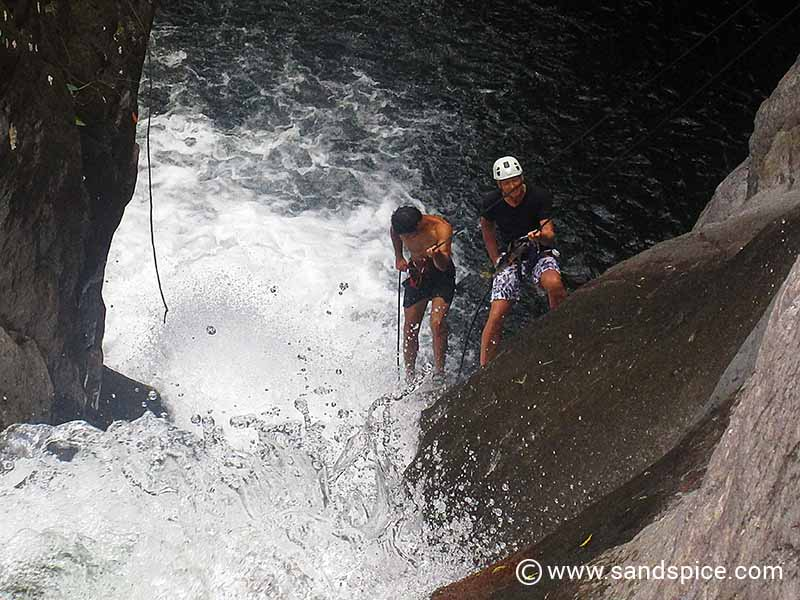 Waterfall Rappeling in Boquete