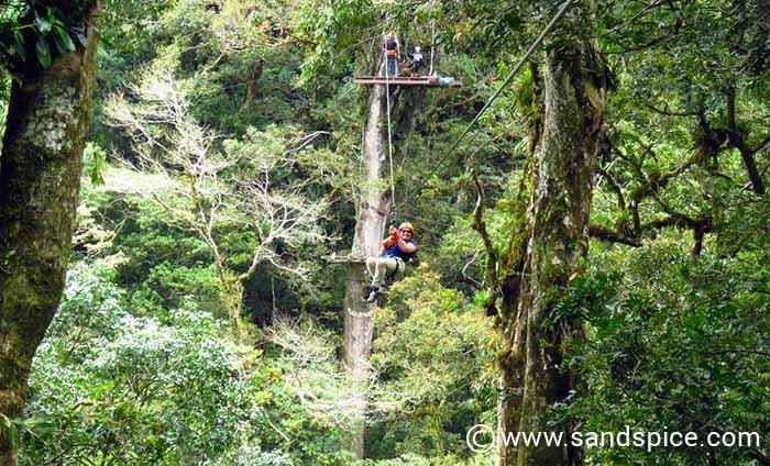 Ziplining in Boquete Panama