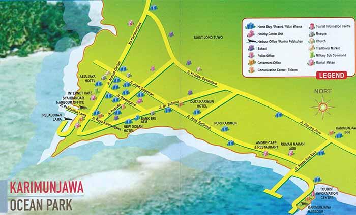 Karimunjawa Town Map