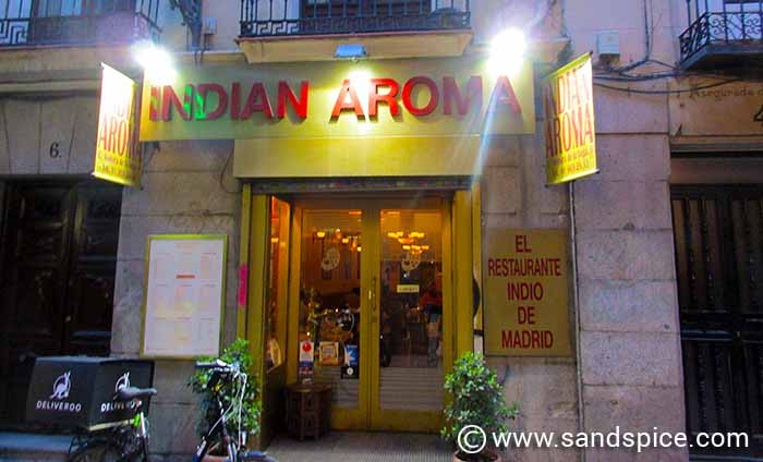 Madrid Attractions and Eating Out - Indian Aroma