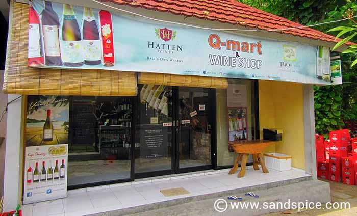 The shop on the Jalan Raya Tuban