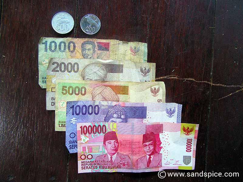 Lembongan Island Beaches - Local cash