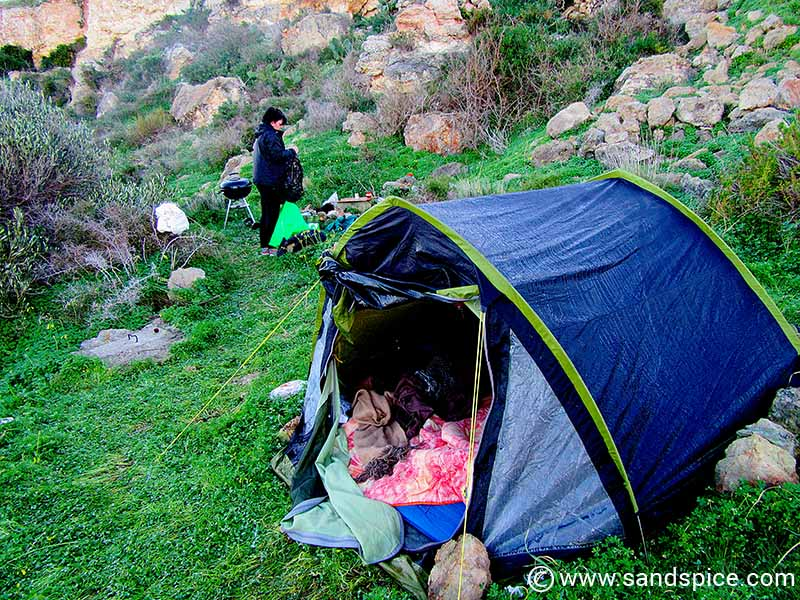 New Year's Eve Malta Clifftop Camping