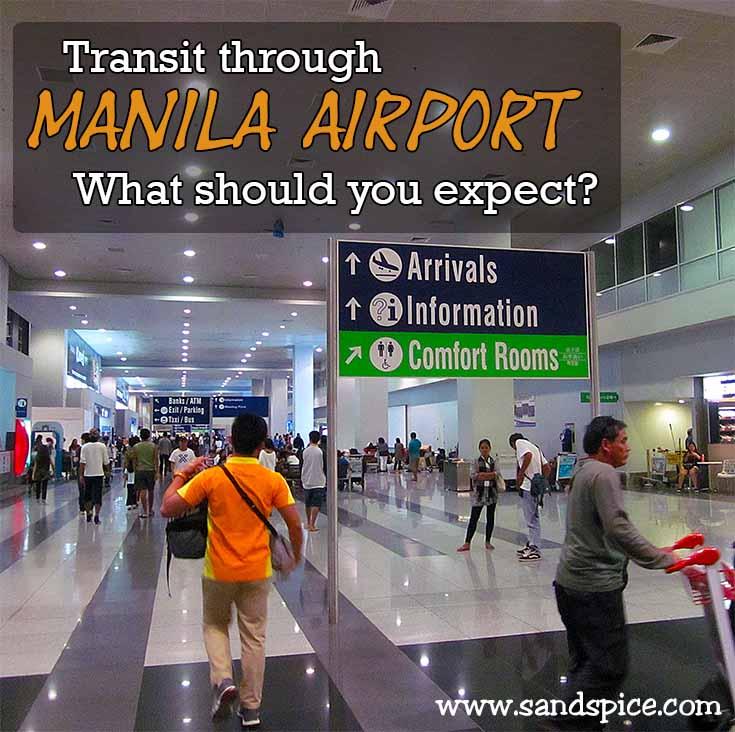 Transit between Manila Airport Terminals