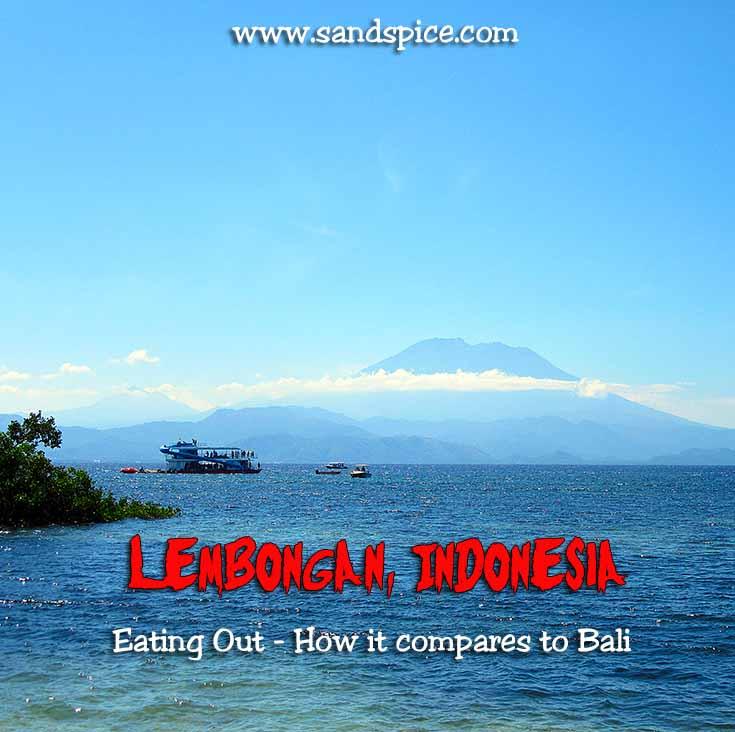 Lembongan Island Eating Out