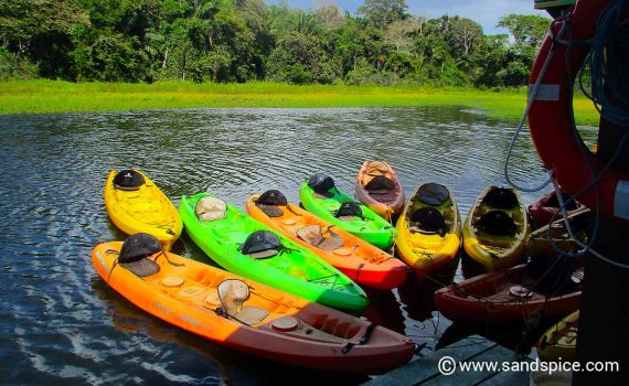 Panama Canal Kayaking