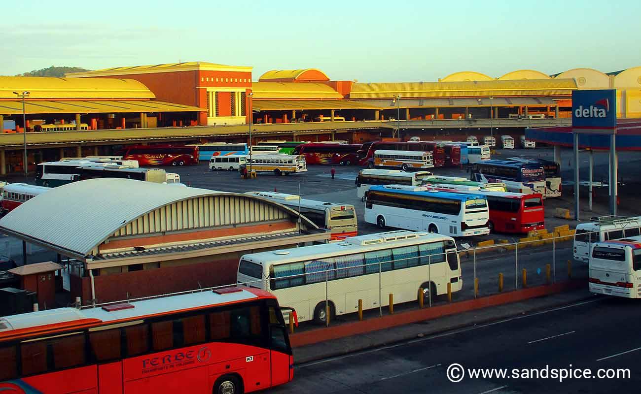 Panama City to Santa Catalina by Bus