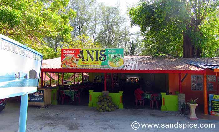 Tanjung Rhu beach cafe