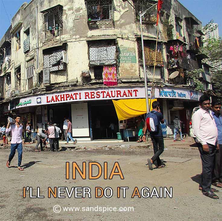 India - I'll Never Do It Again