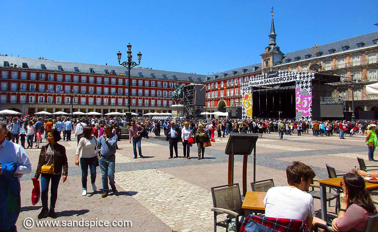 Madrid Attractions and Eating Out