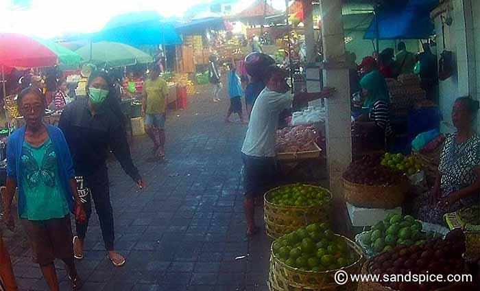 Denpasar souvenir shopping - Badung Market, Denpasar