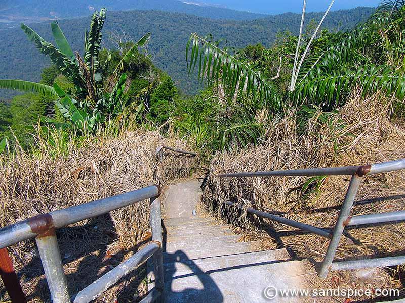 Hiking up Gunung Raya