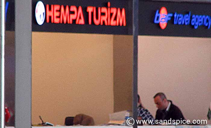Turkish Airlines Hotel Desk Istanbul