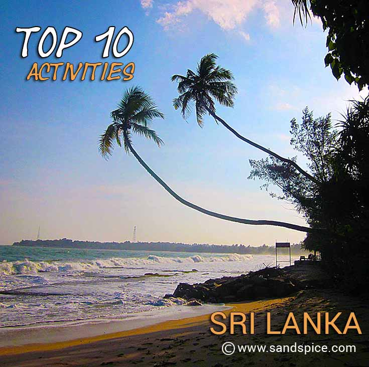 Sri Lanka Top 10 Activities