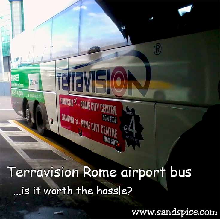 Terravision Rome airport bus - Worth the hassle?