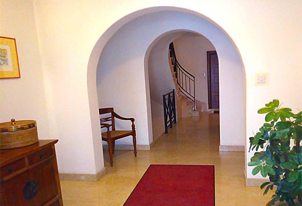 Malta Seafront Penthouse For Sale Entrance Foyer