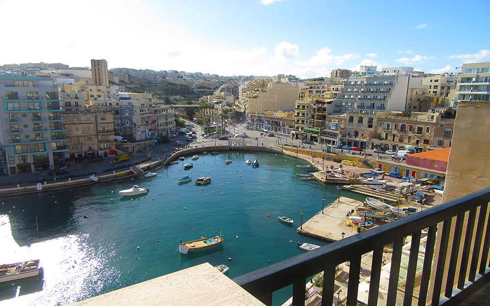 Malta Penthouse Apartment For Sale – Seafront Property - Building Facade, Spinola Road St Julians