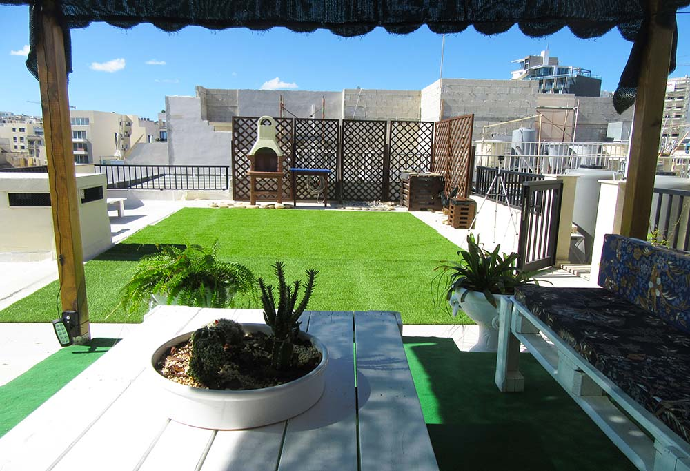 Malta Seafront Penthouse For Sale - Penthouse Roof